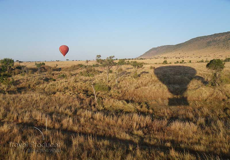 Masai mara Kenya Africa Hot Air balloon