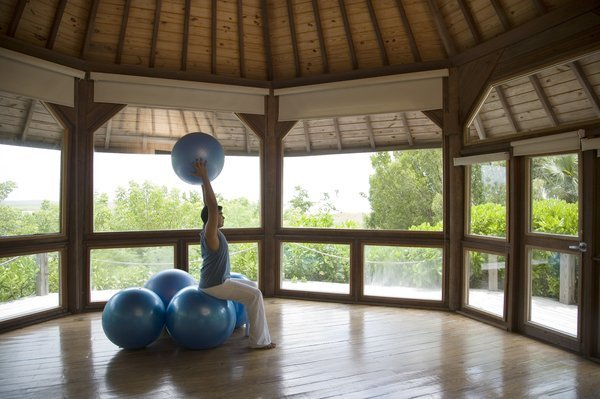 Parrot Cay Pilates Pavilion Retreat Caribbean
