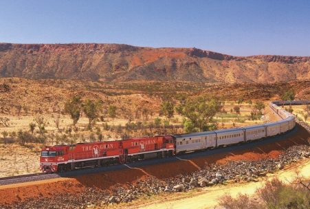 The Ghan Railway Australia