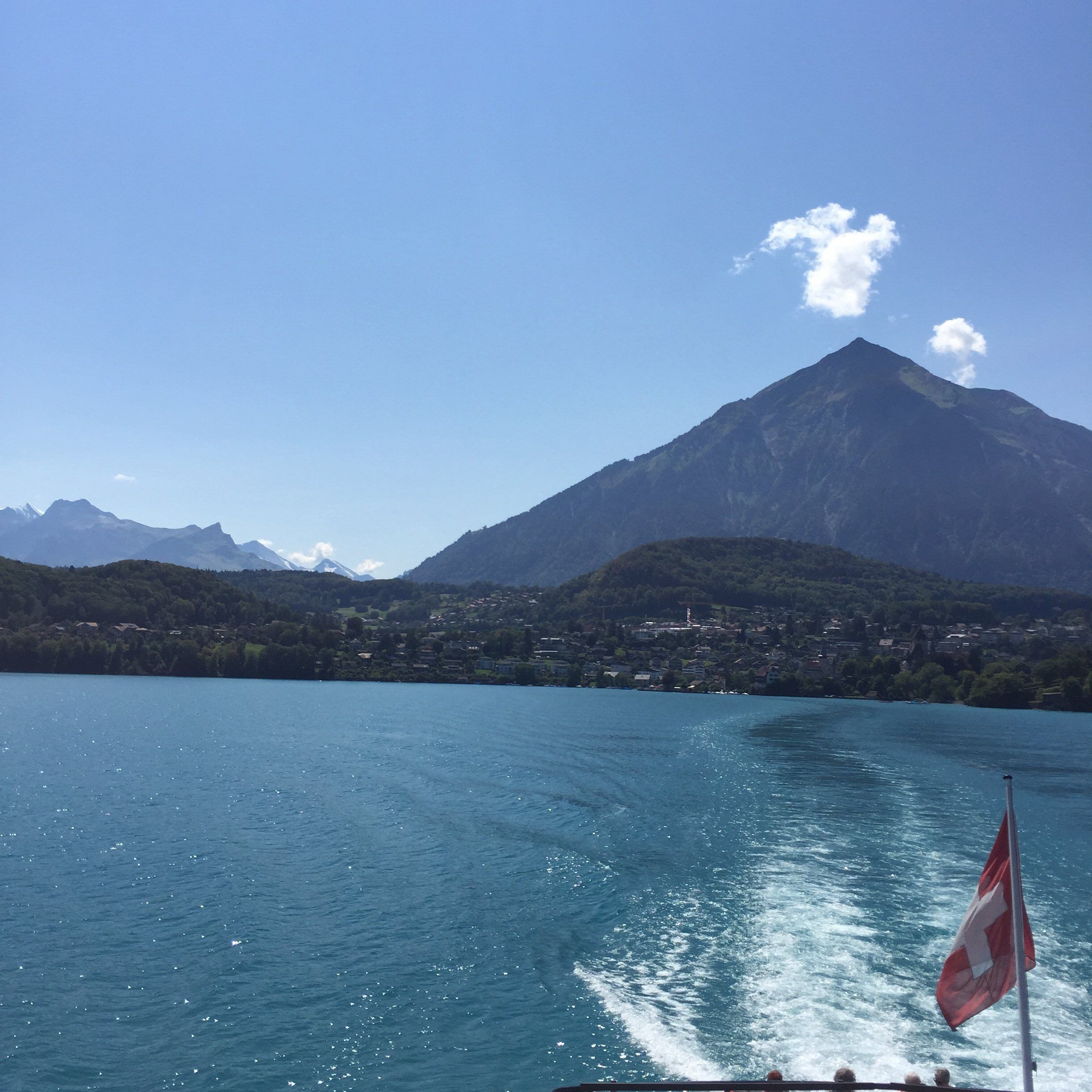 Swiss lake Thun