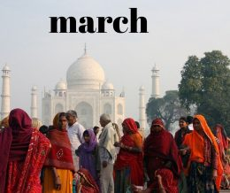 March destinations